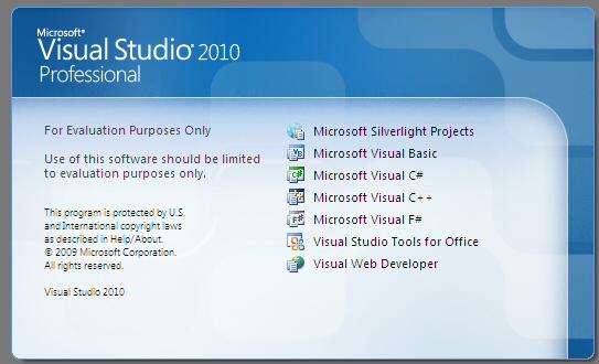 Visual Studio 2010 Install Screenshots | Sean's Stuff