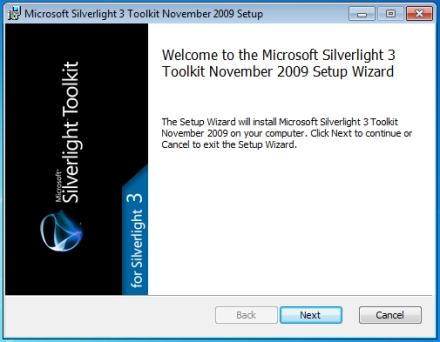 Toolkit Install Starts